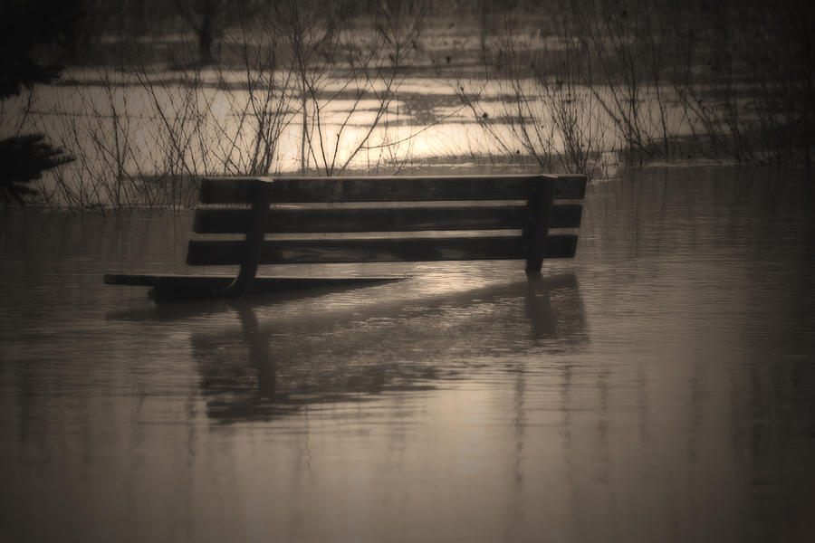 Sepia Photograph - Surrender by Cathy  Beharriell