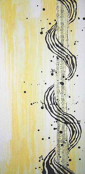 Music Painting - Surround Sound by Amber Bambler Keller