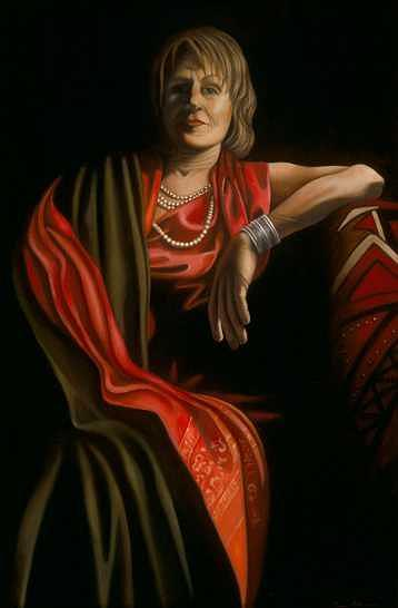 Realism Painting - Susanna The Elder by Tina Blondell