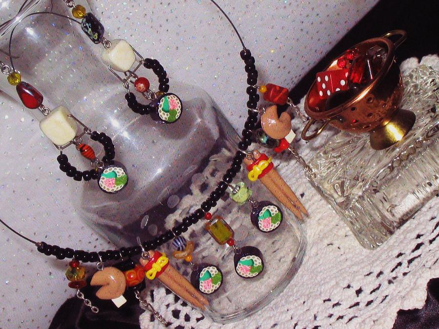 Sushi Jewelry - Sushi Fun Jewelry Set by Jamie Pool