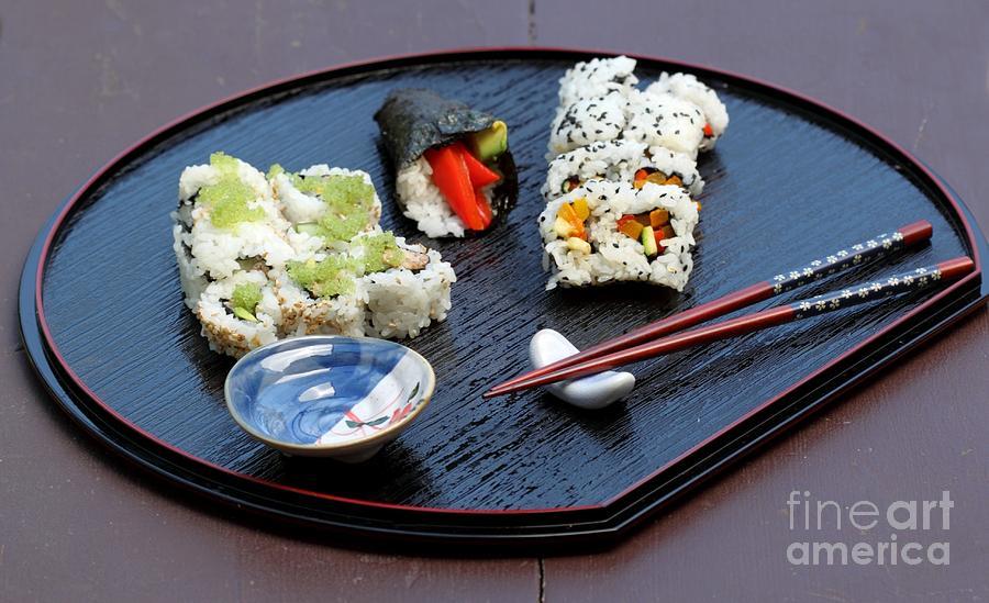 Sushi Plate by Henrik Lehnerer