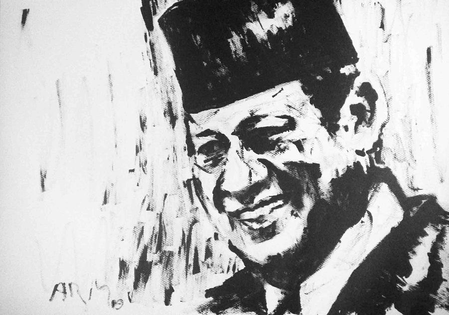 Susilo Bambang Yudhoyono - Indonesia Painting by Alireza Mobtaker