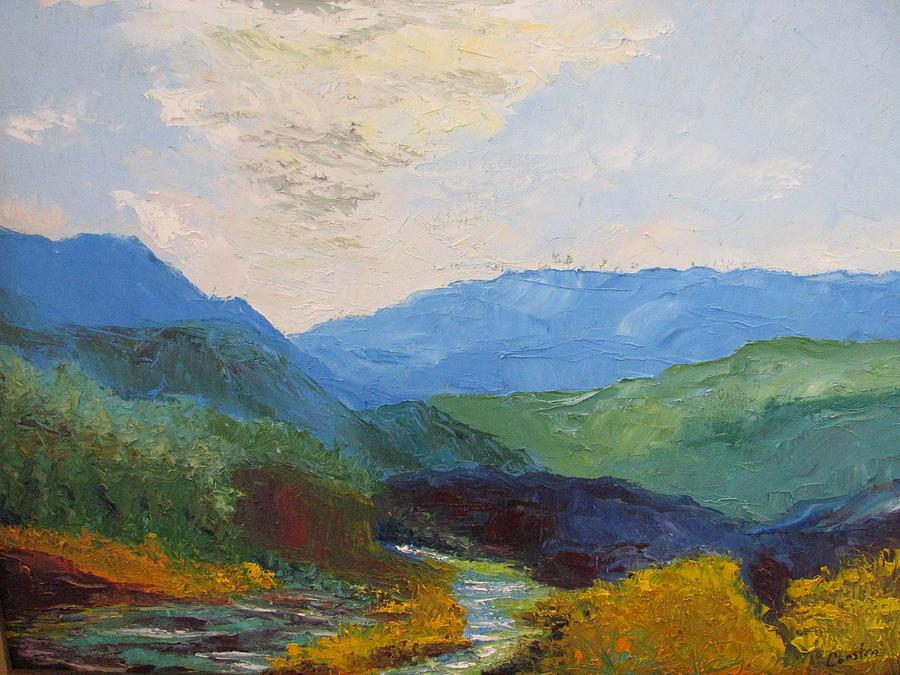 Landscape Painting - Susquahanna by Belinda Consten