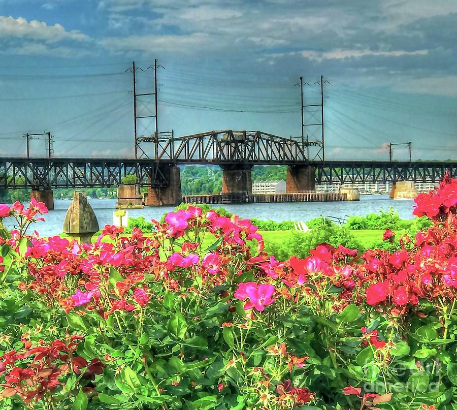 Susquehanna River Bridge by Debbi Granruth