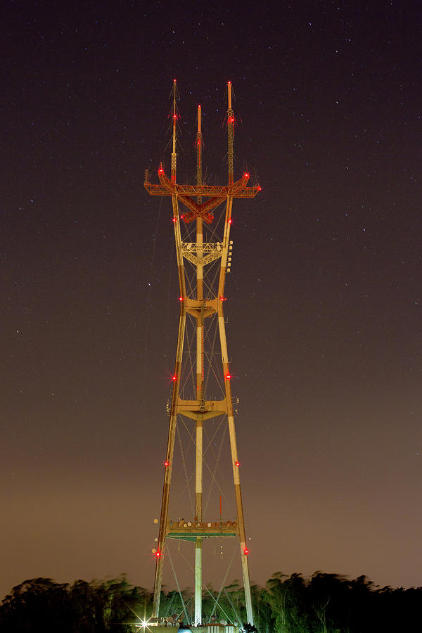 Tower Photograph - Sutro Tower by Digiblocks Photography