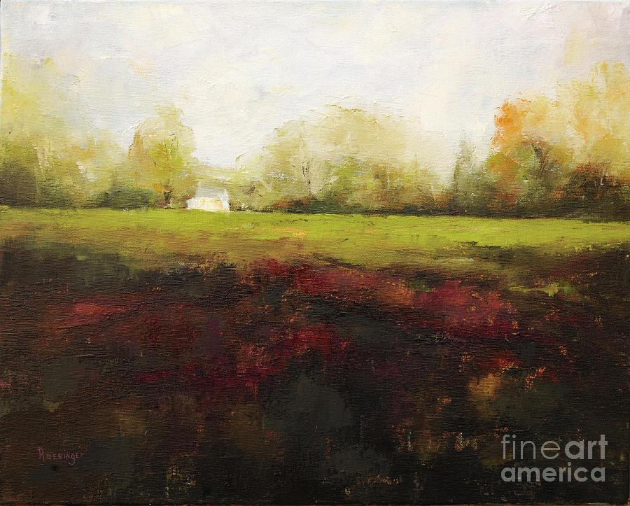 Hunterdon County Painting - Sutton Road Farm by Paint Box Studio