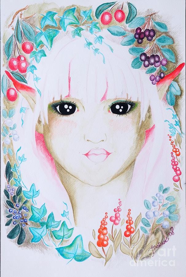 Fantasy Painting - Suvi by Tiina Rauk