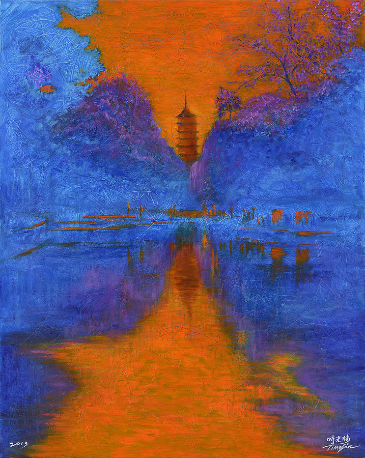China Painting - Suzhou by Time Lin