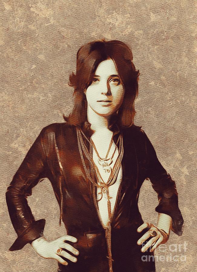 Suzi Quatro, Music Legend Painting