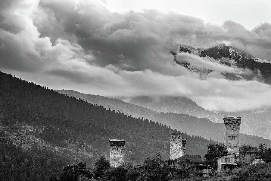 Georgia - Svan Towers Photograph