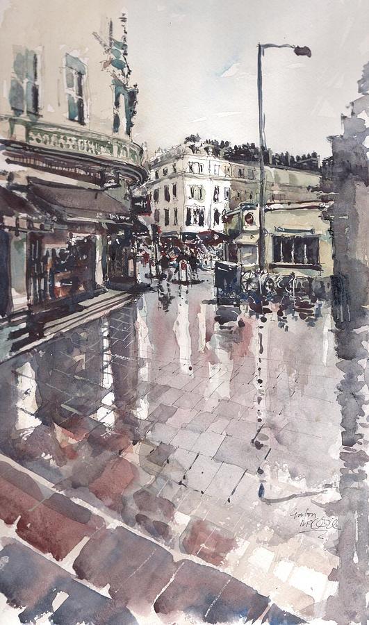 Embankment Painting - Sw7 London by Gaston McKenzie