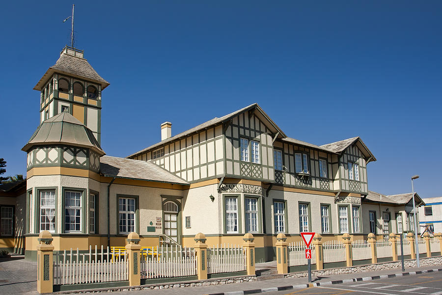 Swakopmunds German Colonial Architecture Photograph By Aivar Mikko