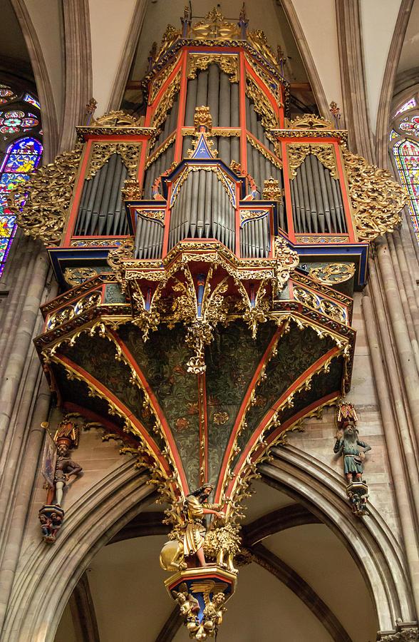 Alsace Photograph - Swallows Nest Grand Organ by Teresa Mucha