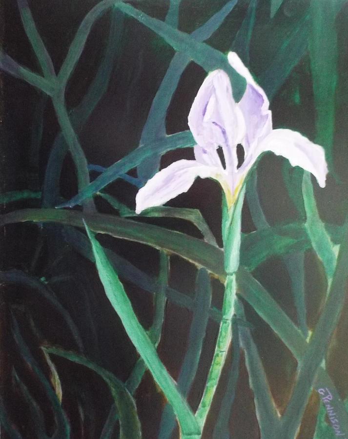 Swamp Bloom Painting