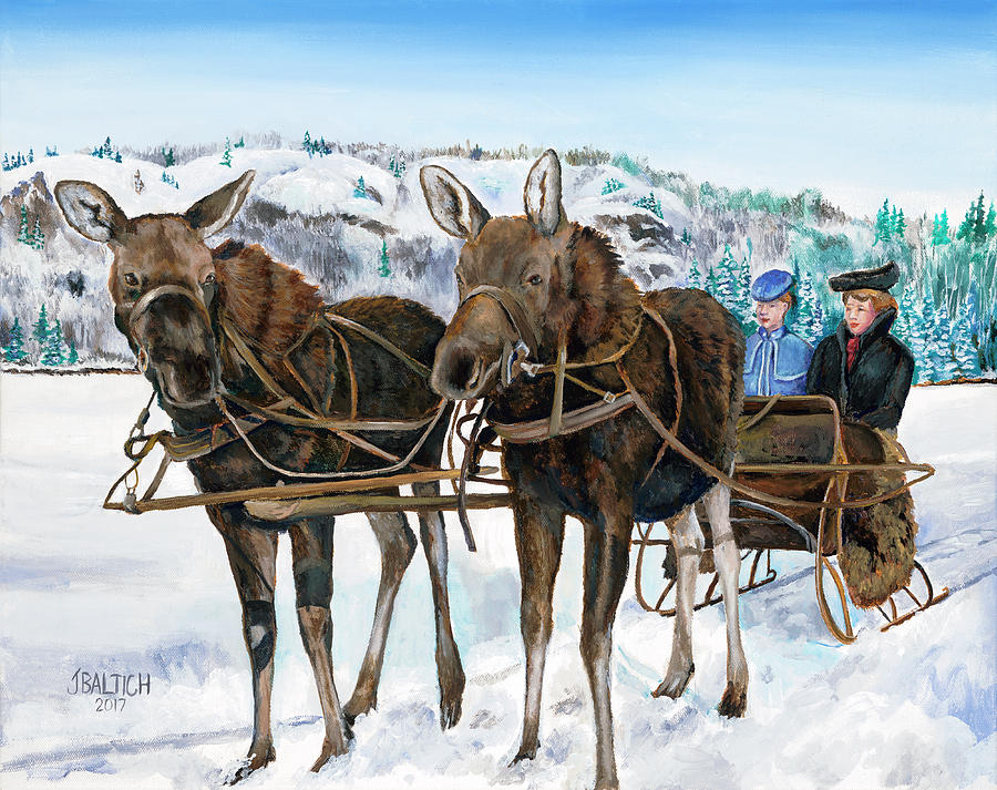 Swamp Donkies by Joe Baltich