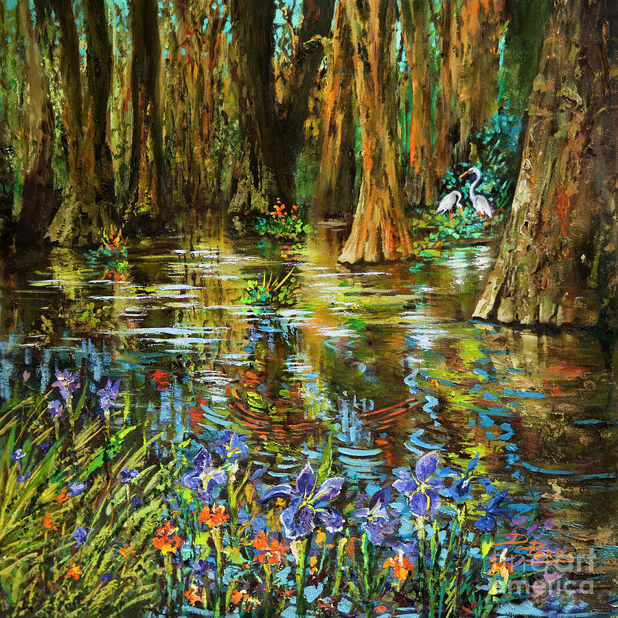 Swamp Iris by Dianne Parks