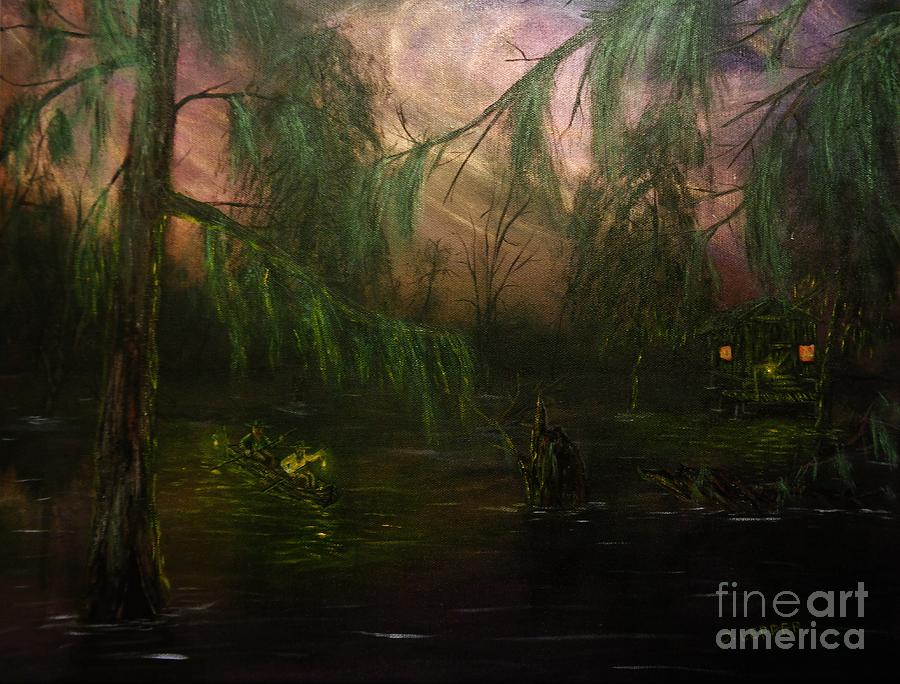 Swamp La Vie Scouting in Twilight  by Jack Lepper
