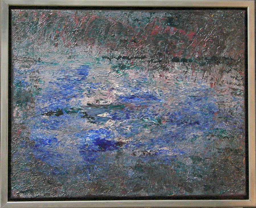 Water Painting - Swamp by Rivka Waas