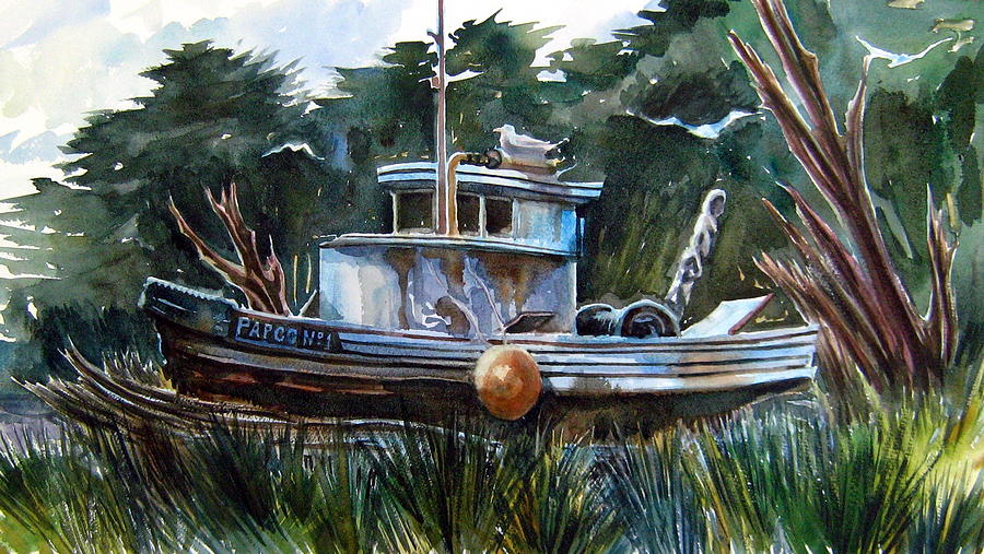 Swamped Painting by Ron  Morrison