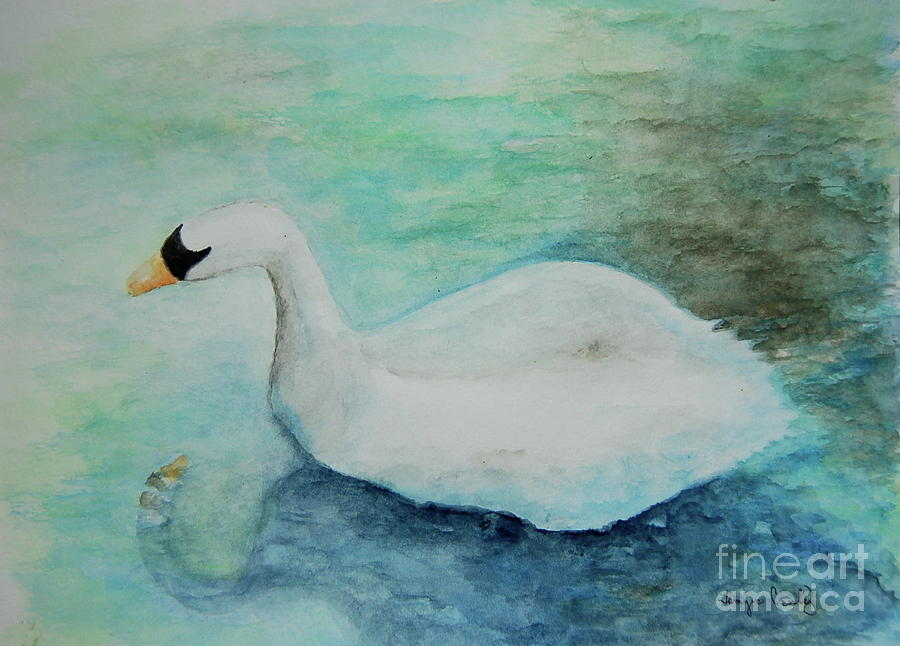 Swan Flight by Tamyra Crossley