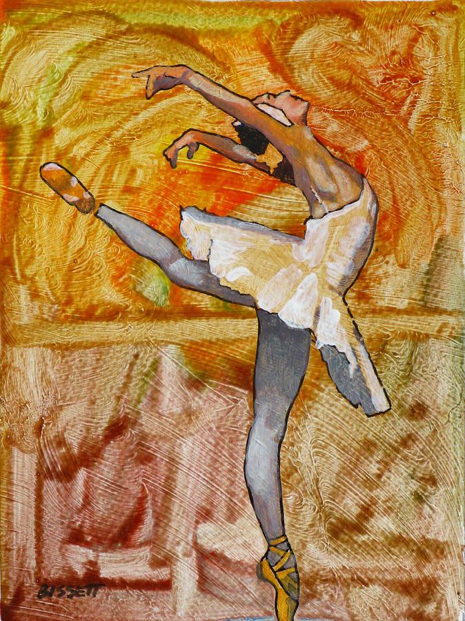 Swan Painting - Swan Lake 2 by Robert Bissett