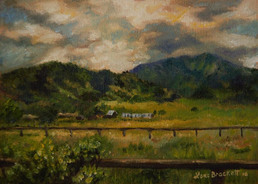 Swan Valley Hillside by Lori Brackett