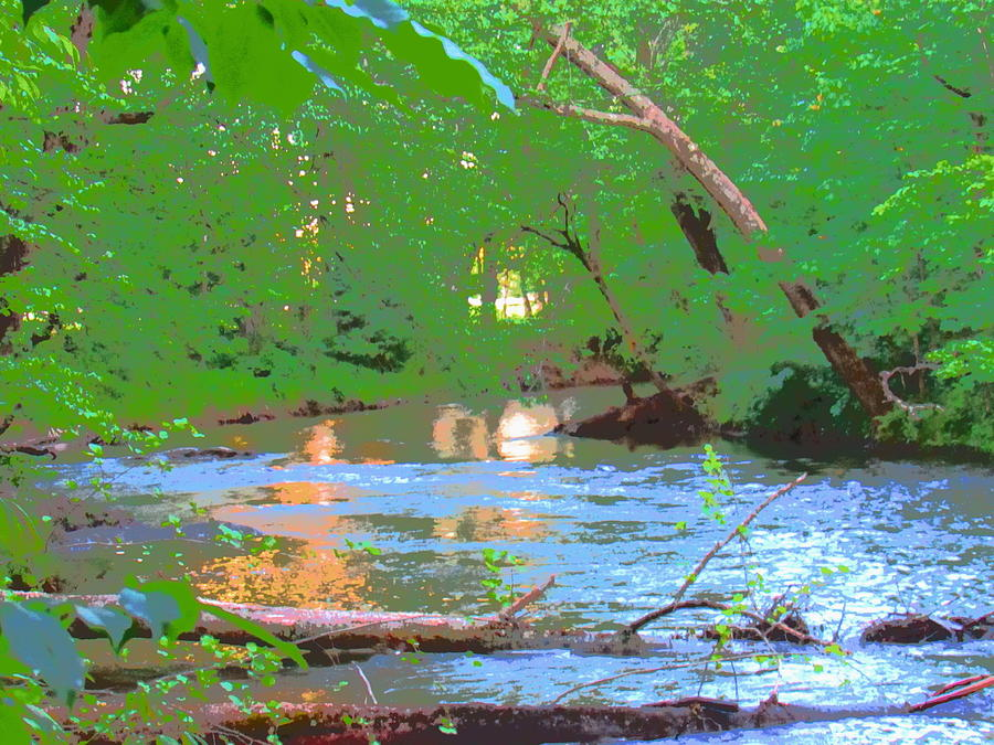 Swannanoa River Photograph