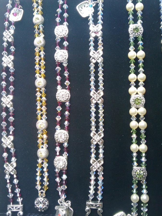 Tennis Bracelets Jewelry - Swarovski Tennis Bracelets by Melanie A Leon