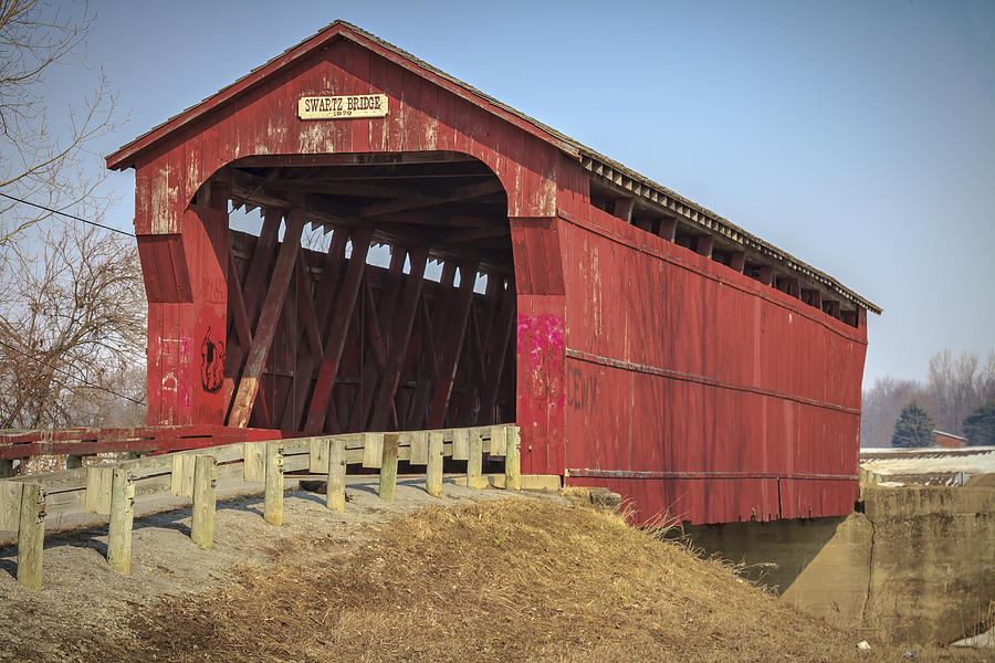 Swartz Covered Bridge Photograph