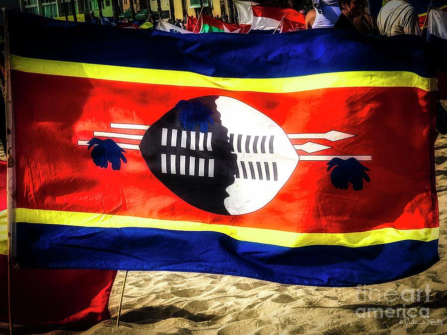 Swaziland Flag by Julian Starks