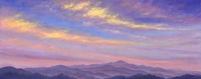 Sweeping Clouds Painting by Jeff Pittman