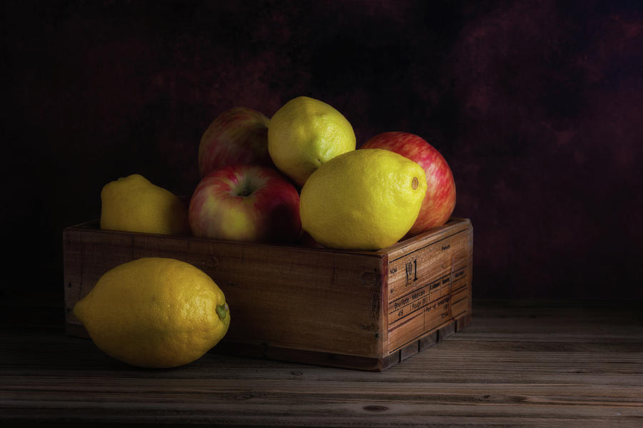 Apple Photograph - Sweet And Sour Fruits Still Life by Tom Mc Nemar
