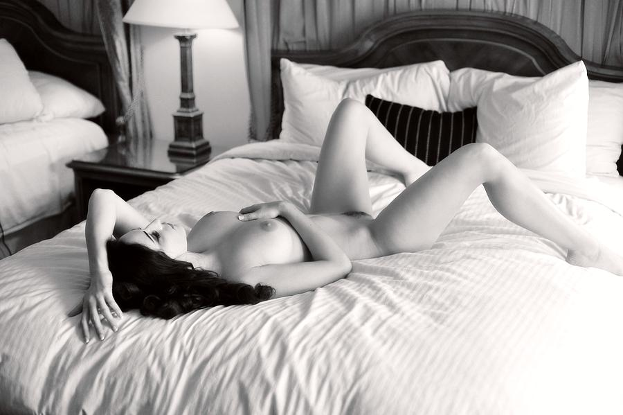 Nude Photograph - Sweet Anticipation by Curt Johnson
