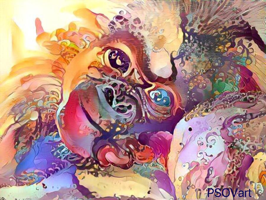 Sweet Baby Monkey 1 by Patty Vicknair