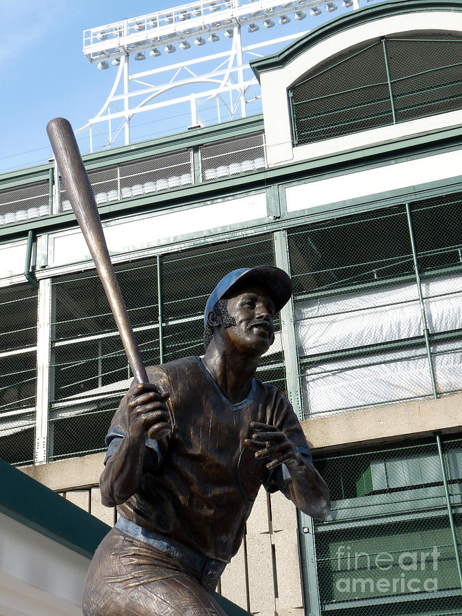 Chicago Cubs Photograph - Sweet Billy Williams by David Bearden
