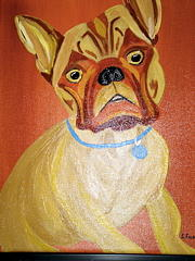 Pet Portraits Painting - Sweet Boy by Suzanne Filotei