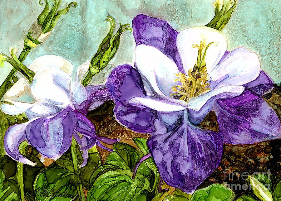 Sweet Columbine by Vicki Baun Barry