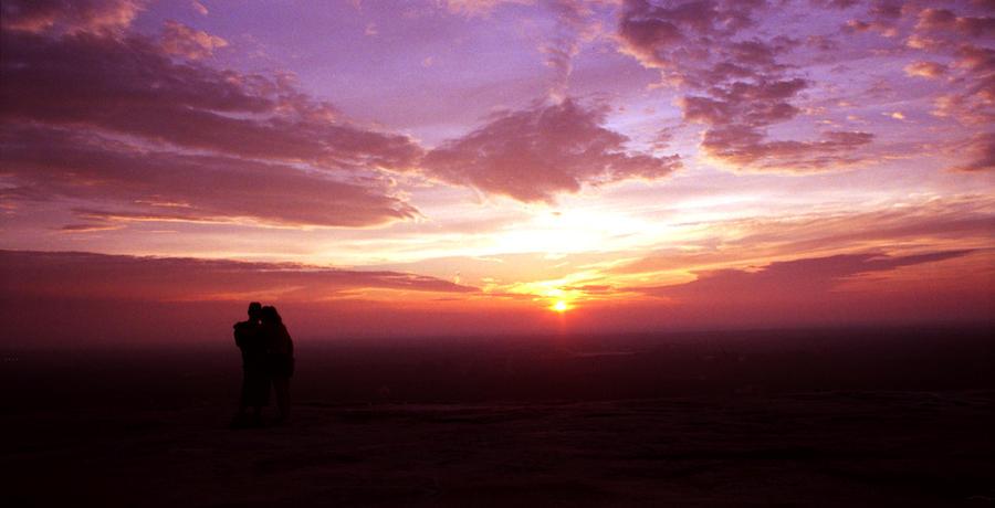 Sunset Photograph - Sweet Contemplation by Jason Vanhoy