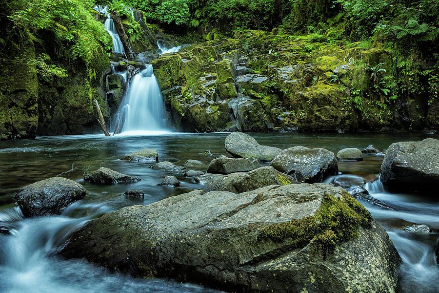 Sweet Creek Falls Photograph - Sweet Creek Falls by Belinda Greb
