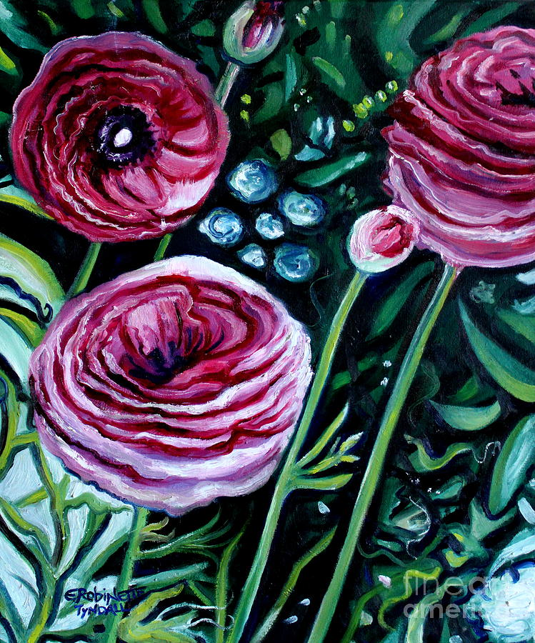 Garden Painting - Sweet Delight by Elizabeth Robinette Tyndall