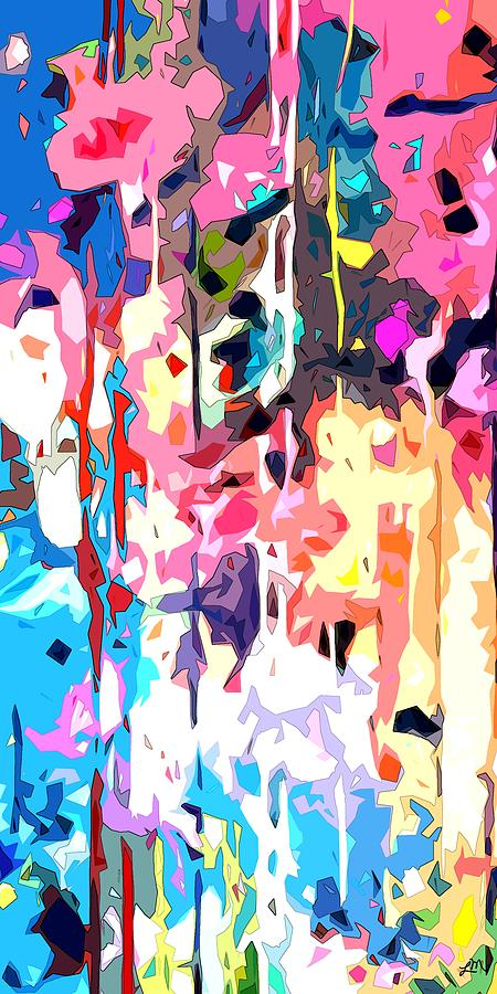 Abstract Digital Art - Sweet Dreams Again panel two of two by Linda Mears