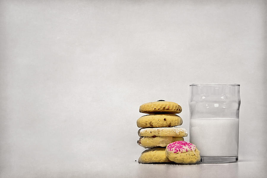 Milk Photograph - Sweet Dreams by Evelina Kremsdorf