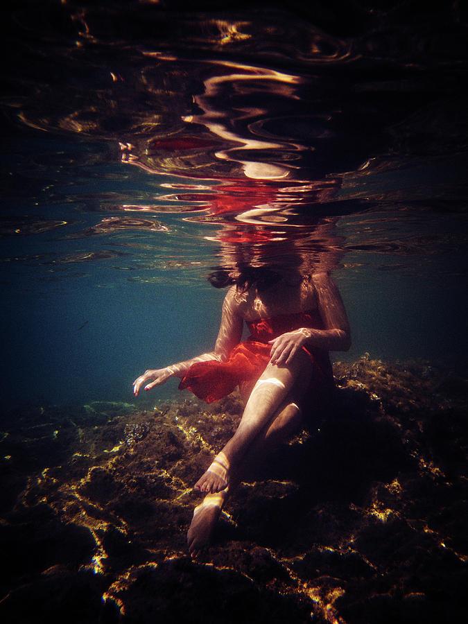 Swim Photograph - Sweet by Gemma Silvestre