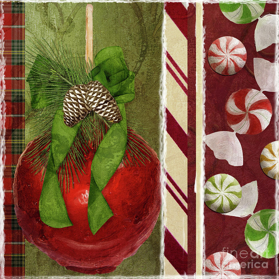 Christmas Painting - Sweet Holiday II by Mindy Sommers