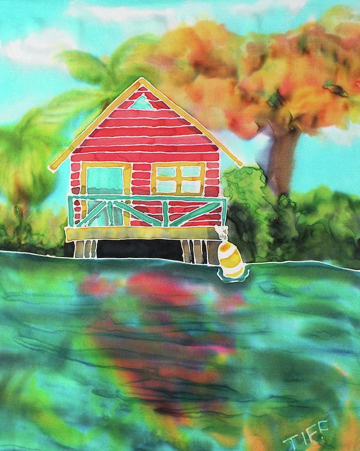 Bahamas Painting - Sweet Island Home by TIFF Barrett