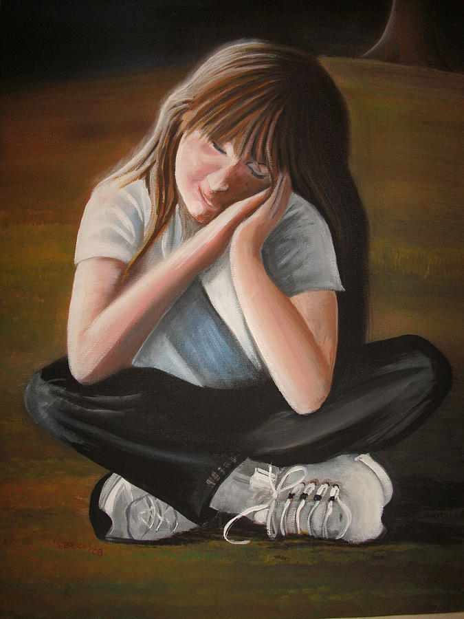 Sweet Painting - Sweet Jordan by Scott Easom