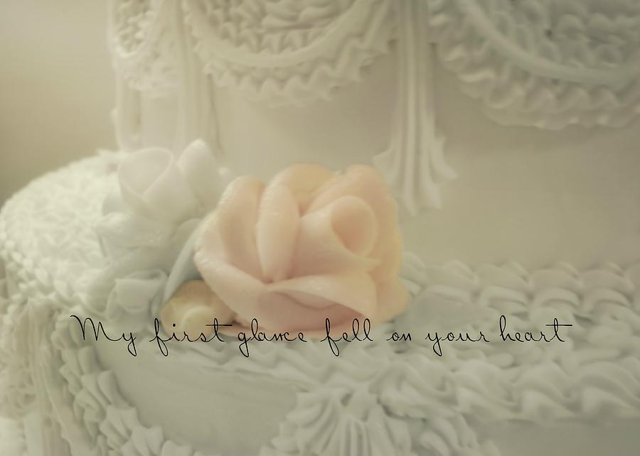 Wedding Photograph - Sweet Love Quote by JAMART Photography