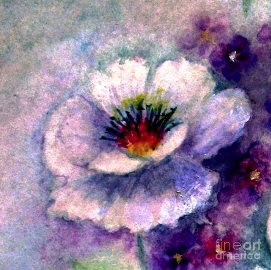Flowers Painting - Sweet Memories by Hazel Holland