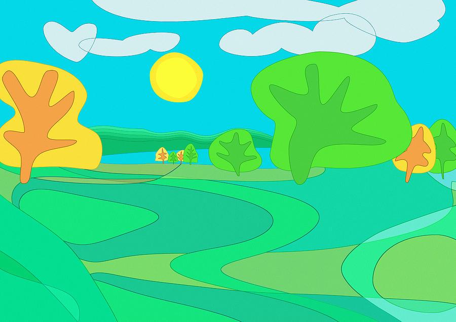 Sweet Memories Of Childhood In Cheshire Digital Art