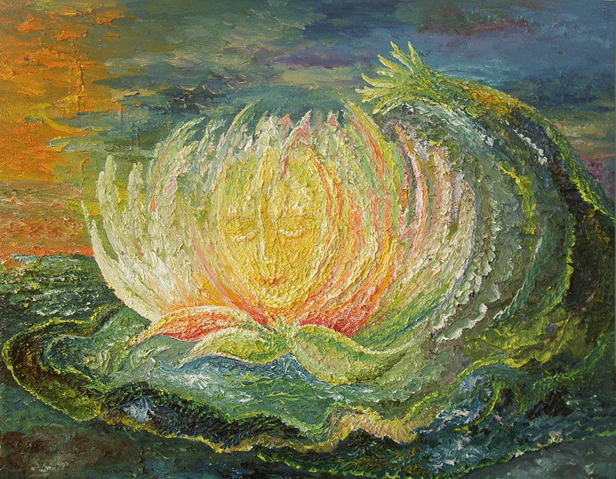 Flower Painting - Sweet Morning Dream by Karina Ishkhanova